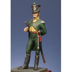 officier de chasseurs 1er rgt. Royaume d'Italie 1807