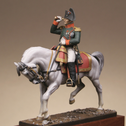 Napoléon 1er. En habit chasseur à cheval de la Garde