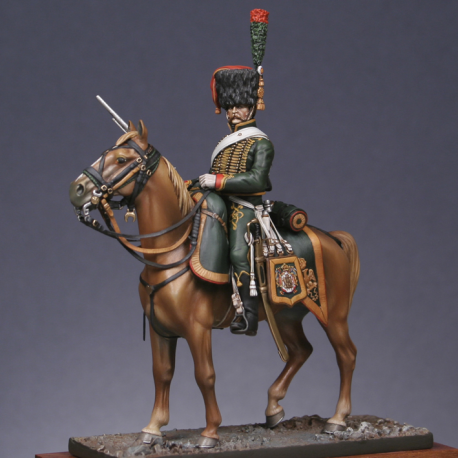 Chasseur à cheval de la Garde, Tenue de service d'été